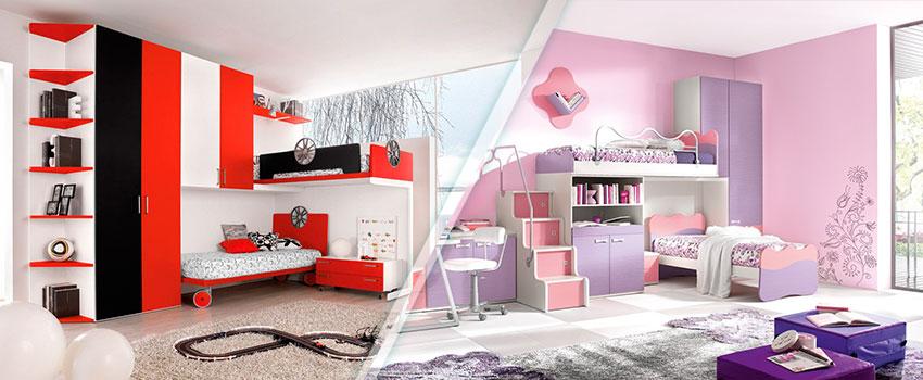 Комплекти - готови мебели и обзавеждане за детска стая. Комплекти за детска стая за момиче и момче