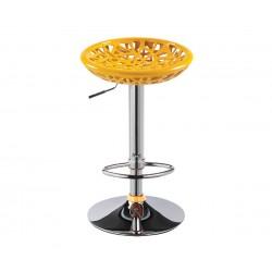 Бар стол Калипсо-2, въртящ - жълт