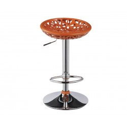 Бар стол Калипсо-2, въртящ - оранжев