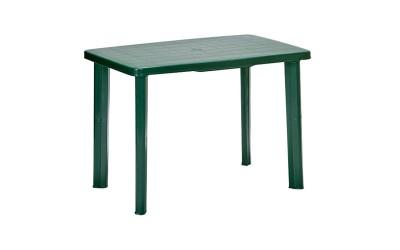 Пластмасова градинска маса Фарето - зелена