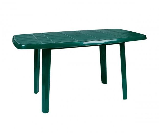 Пластмасова градинска маса Сиеста187 - зелена
