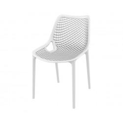 Полипропиленов градински стол Еър - бял