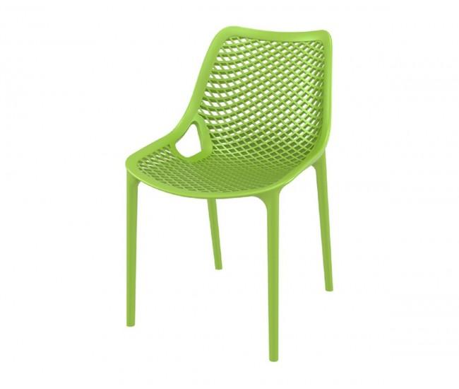 Полипропиленов градински стол Еър - резеда