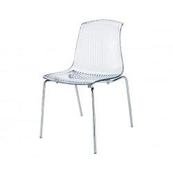 Градински стол Алегра, поликарбонат - прозрачен