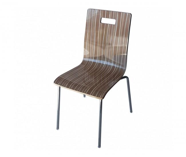 Трапезен стол 8036А - мока райе