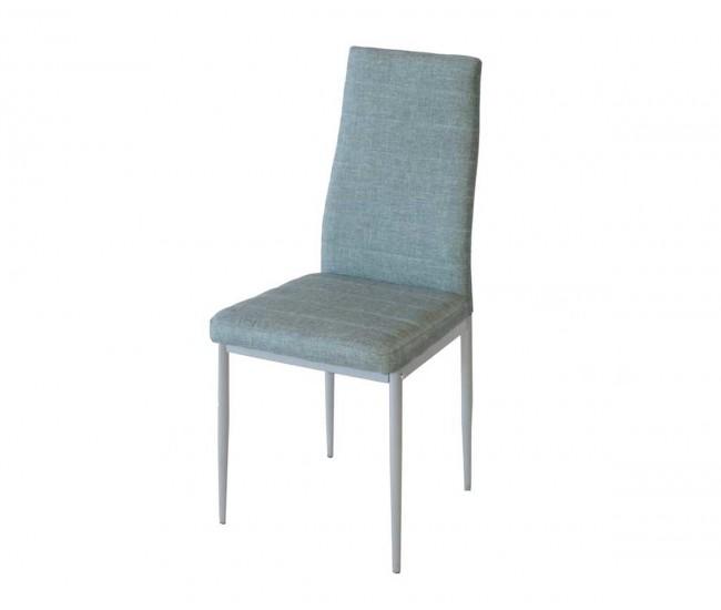 Тапициран трапезен стол АМ-С170B - светлосив