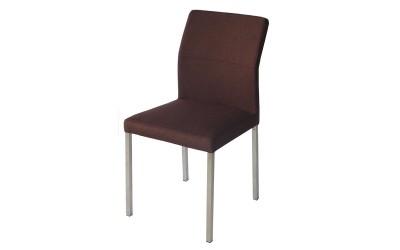Тапициран трапезен стол AM-752 - кафяв