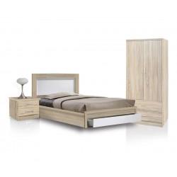 Спален комплект HM11118.02 - Сонома/Бяло