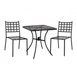 Градински комплект HM10403 - маса и два стола