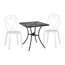 Градински комплект HM10404.12 - маса и два стола Amore