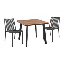 Градински комплект HM10539.02 - маса и два стола