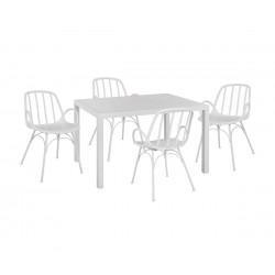 Градински комплект HM10524 - маса и четири стола