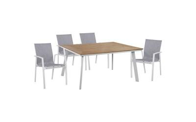 Градински комплект HM10599.01 - маса и четири стола