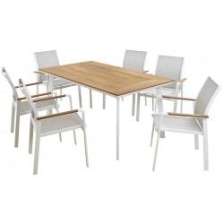 "Градински комплект HM5242.01 - маса и шест стола ""Miller"""