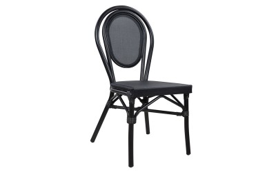 Стол Bamboo Look HM5052 - Черен
