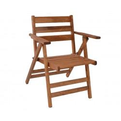 Сгъваем дървен стол Naxos HM5413.01