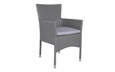 Ратанов фотьойл HM5684.01 - Сив