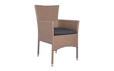 Ратанов фотьойл HM5684.02 - Кафяв