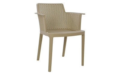 Комплект от 4 бр. кресла HM8115.07 - полипропилен в бежово