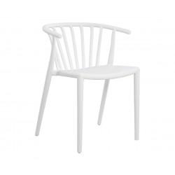 Компелкт 4 бр. стол HM8117.02- Бял полипропилен