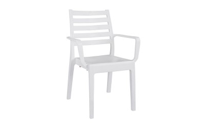 Градински стол Jardin HM8692.01 - Бял