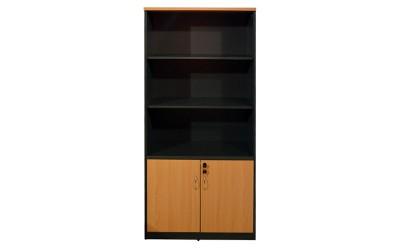 Офис шкаф HM2014.01 - Дъб/Тъмносив