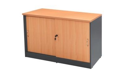 Офис шкаф HM2012.01 - Дъб/Тъмносив