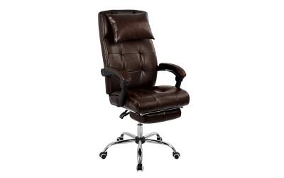 Геймърски стол Synchro HM1057.09 - Кафяв с подлакътници