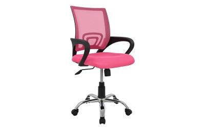 Детски стол за бюро Bristone HM1058.05 - Розов с подлакътници