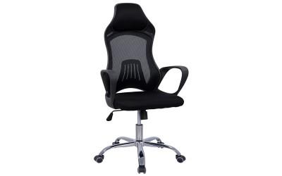 Офис стол с подлакътници HM1152.01 - Черен
