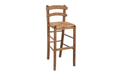 Бар стол HM10372.01 - в гръцки традиционен стил