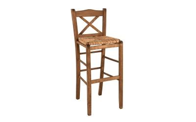 Бар стол HM10375.01 - в гръцки традиционен стил