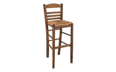 Бар стол HM10377.01 - в гръцки традиционен стил
