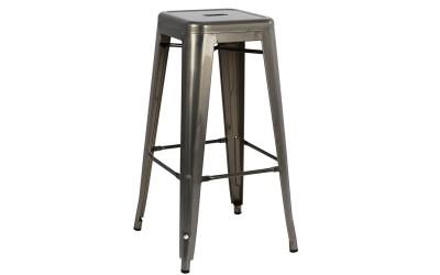 Метален бар стол Melita HM0020.03