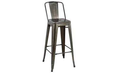 Метален бар стол Melita HM0088.03