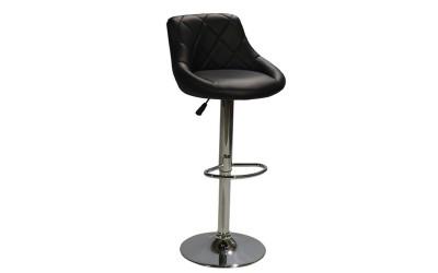 Комплект от 2 бр. бар стол Rose HM204.01 - Черен