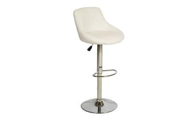 Комплект от 2 бр. бар стол Rose HM204.02 - Бял