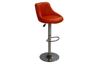 Комплект от 2 бр. бар стол Rose HM204.04 - Червен