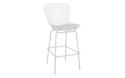 Бар стол Manon HM8046.02 - Бял