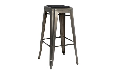 Метален бар стол Melita HM8060.03