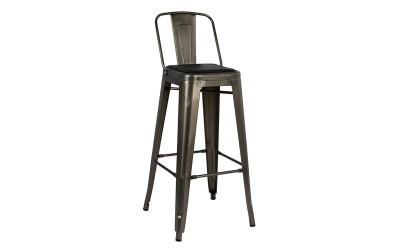 Метален бар стол Melita HM8061.03