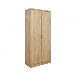 Двукрилен гардероб HM368.02 - Сонома