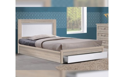 Легло Melany HM323.02 110/190 - Сонома/Бяло