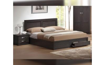 Легло Capri HM399.01 160/200 - Зебрано