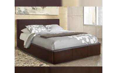 Тапицирано легло Bobbi HM554.02 - 150/200 см. Кафяво