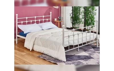 Метално легло HM575.02 - 150/200 Бяло