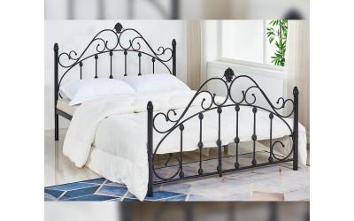 Метално легло HM576.01 - 150/200 Черно