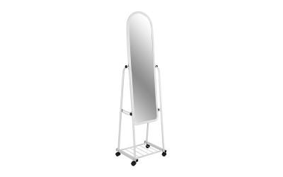 Подово огледало на колелца HM8262.01 - Бяло