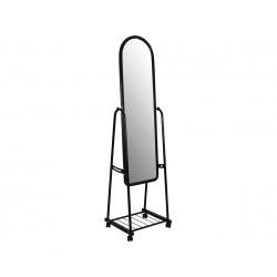 Подово огледало на колелца HM8262.02 - Черно