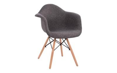 Комплект от 5 бр. кресла Mirto HM005.50 - Сив